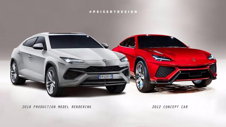 Lamborghini Urus deve ficar assim, segundo designer alemão