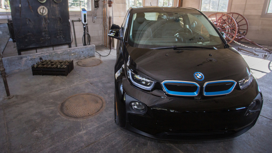 BMW Charging Stations National Park