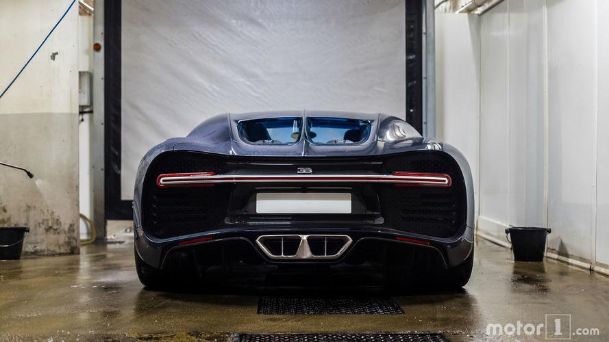 KVC - Bugatti Chiron 001 à Paris