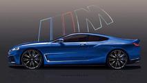 BMW Série 8 par Peisert Design