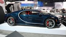 Bugatti Chiron U.S. Spec at 2017 New York Auto Show