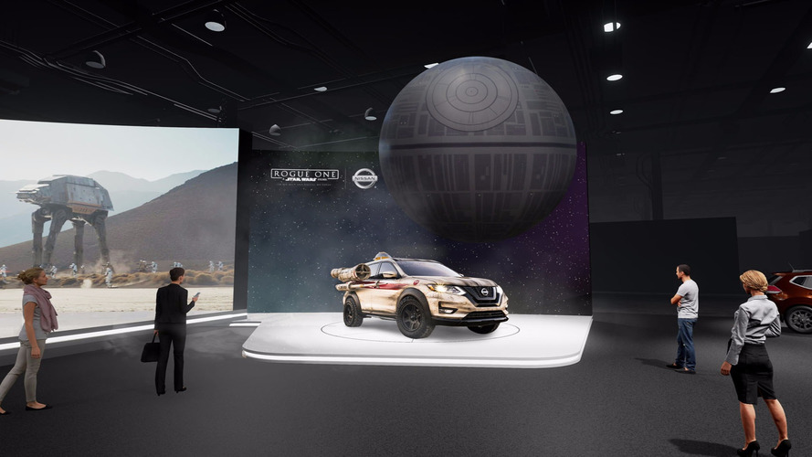 Nissan Will Have Massive Inflatable Death Star At New York