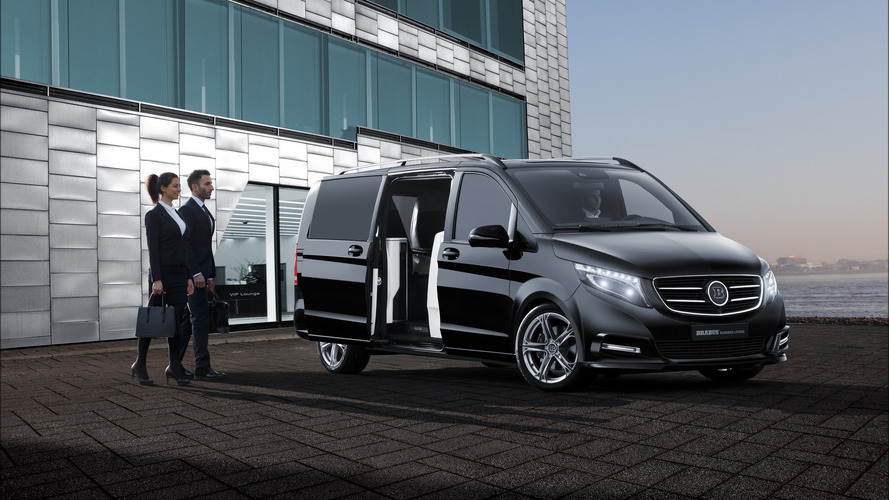 Brabus Mercedes V-Class Is For Mixing Business With Pleasure