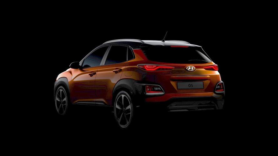 2018 Hyundai Kona images teaser (originales et retouchées)