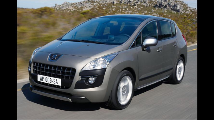Peugeot 3008: Variable Doppel-Null aus Frankreich