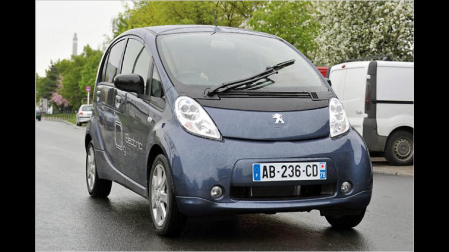 Kleine Ladung: Peugeot iOn