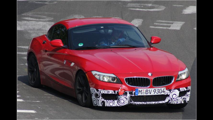 BMW Z4 mit M-Paket: Roadster erhält 2010 sportliche Optik