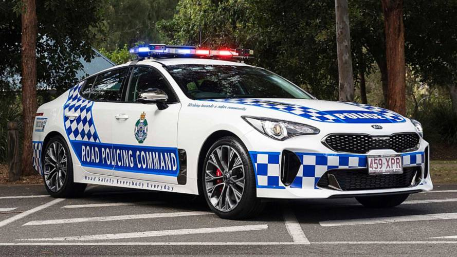 Kia Stinger Police Car Australia