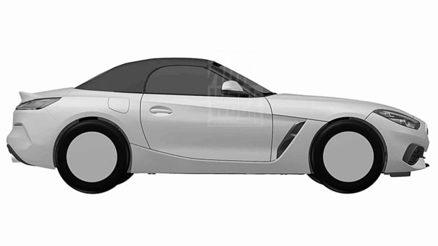 BMW Z4 2018: imágenes filtradas de la oficina de patentes