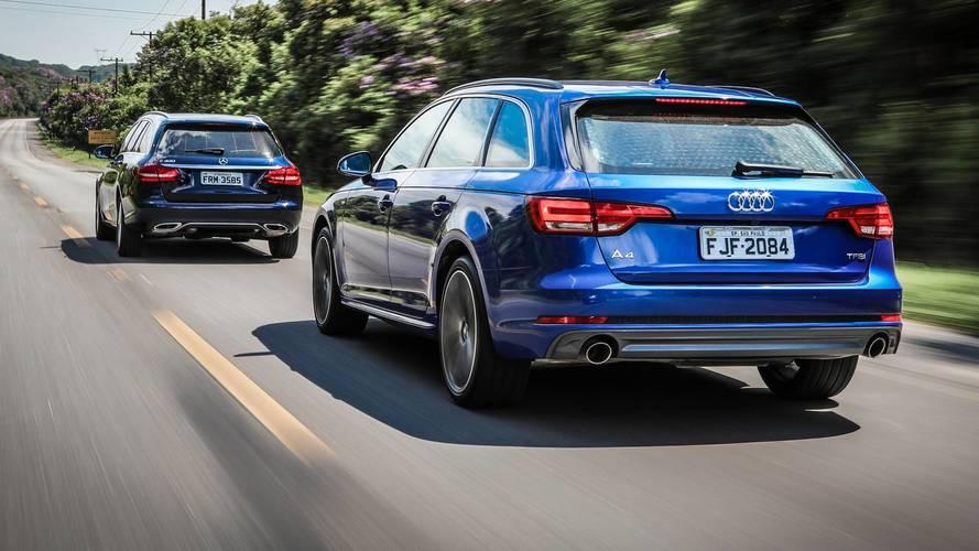 Comparativo Audi A4 Avant x Mercedes C300 Estate - Há vida além dos SUVs