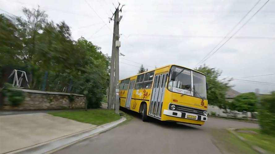 Goodwood Has Nothing On This Crazy-Fast Bus Hill Climb