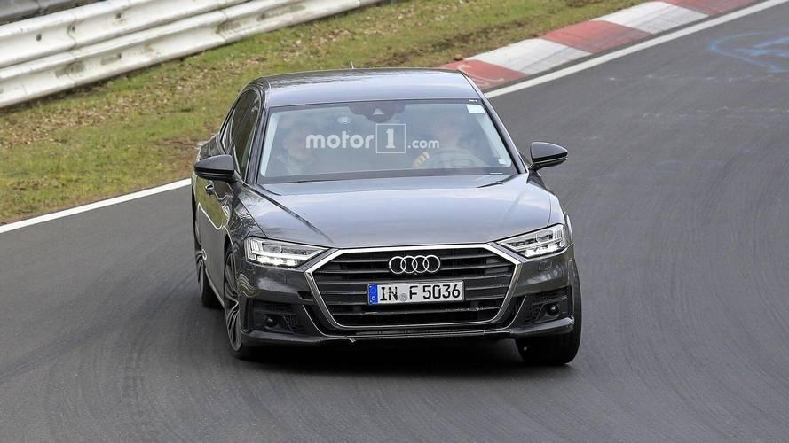 Audi S8 2019 imágenes espía
