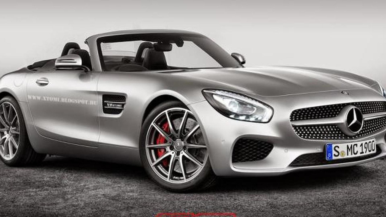 Mercedes-AMG GT Roadster rendering / X-Tomi