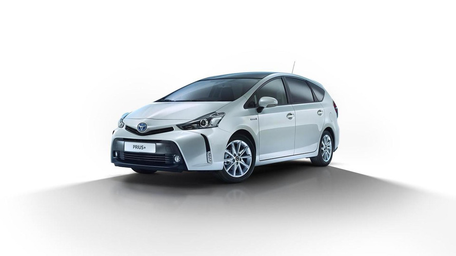 Toyota Prius+ receives minor updates for European market