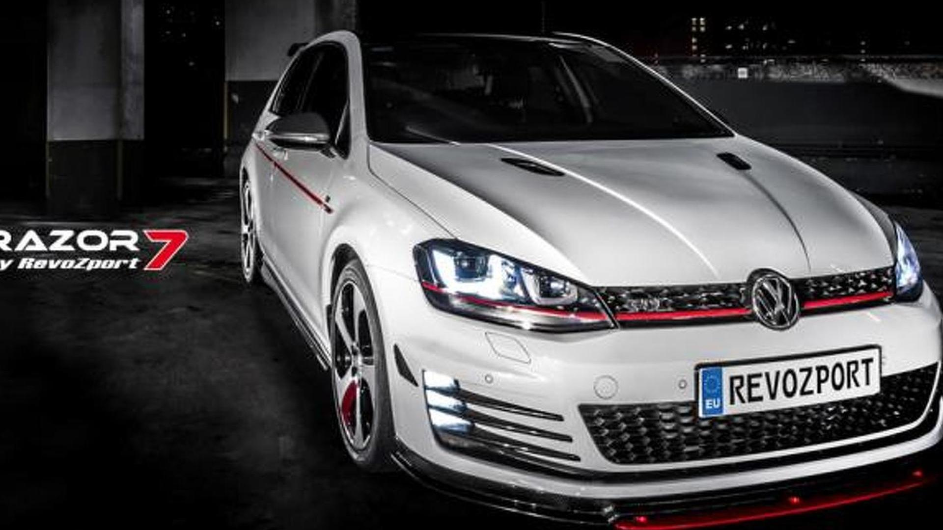 Агрессивный тюнинг Volkswagen Golf GTI от RevoZport
