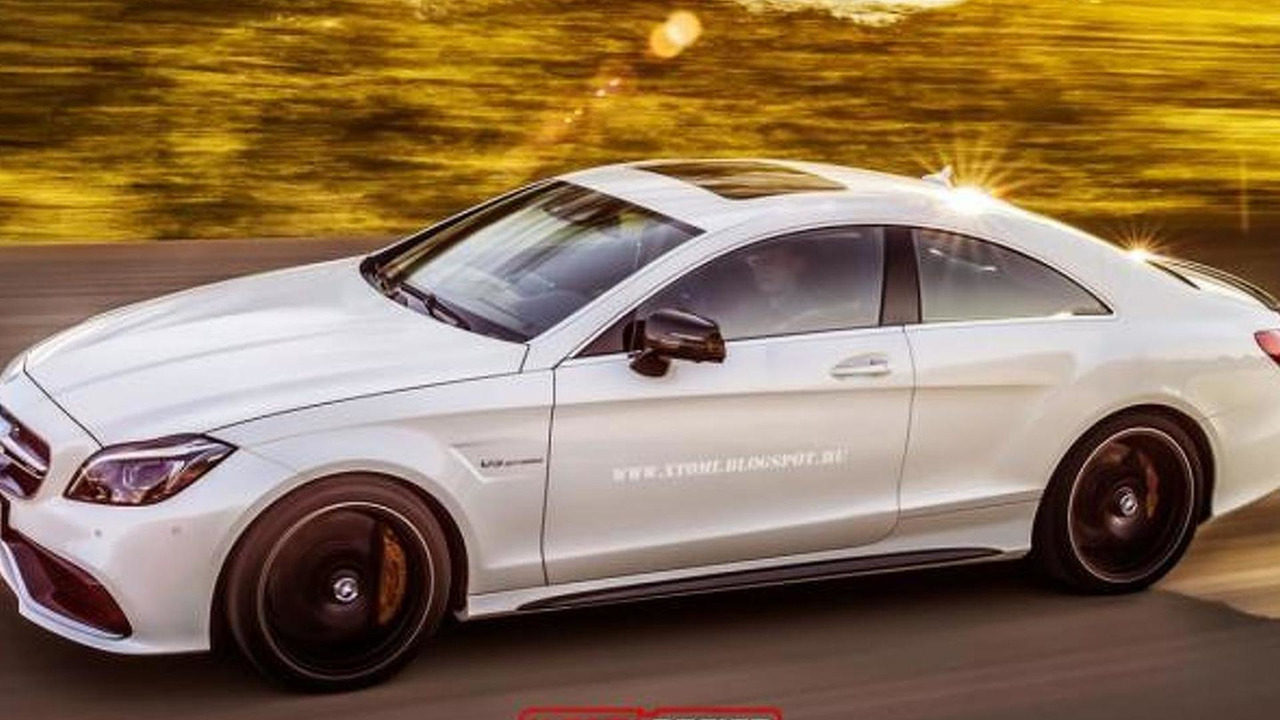 Mercedes-Benz CLS 63 AMG Coupe render