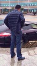 Porsche Panamera accident