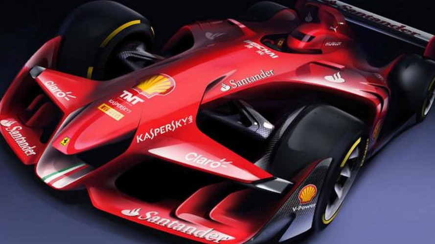 Ferrari envisions Formula 1 car of the future