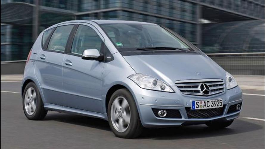 Mercedes Classe A: saldi di fine serie