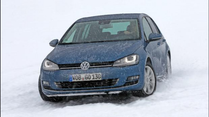 Nuova Volkswagen Golf 4Motion, integrale alla prova