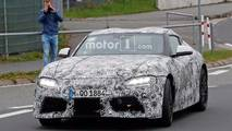 Toyota Supra Spy Photos With Production Lights