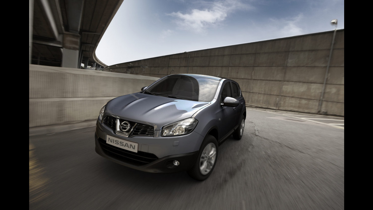 Nissan Qashqai restyling