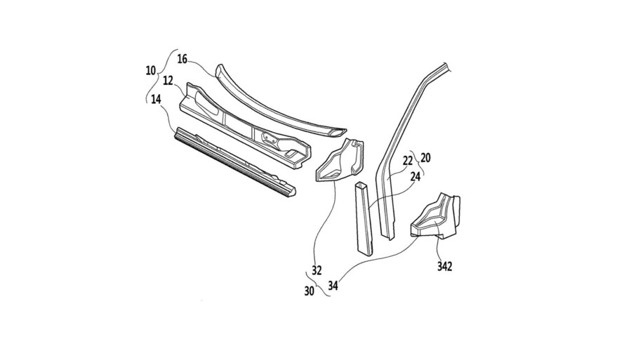 Hyundai Goes Lightweight With Patent For CFRP Front End