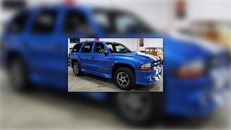 This 360 HP Shelby Dodge Durango Was The Trackhawk Of Its Day