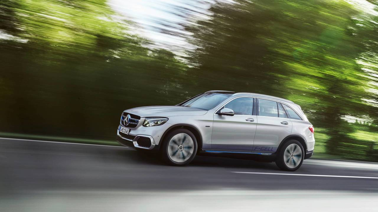 2017 Mercedes-Benz GLC F-Cell SUV