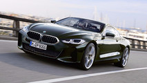 BMW 8 Series Coupe Rendering
