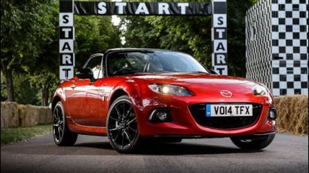 Mazda, grande festa a Goodwood per i 25 anni della MX-5
