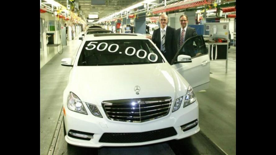 Marca histórica: Mercedes-Benz comemora meio milhão de Classe E sedans produzidos