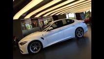 Alfa Romeo Giulia, foto dal vivo