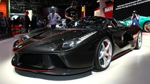 2016 Ferrari LaFerrari Aperta at Paris Motor Show