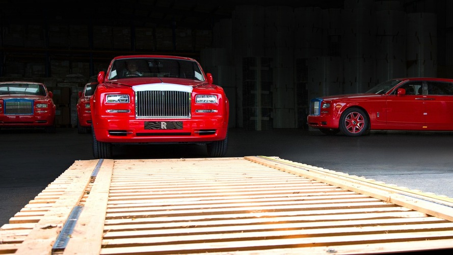 Rolls-Royce delivers largest order ever of 30 Phantoms