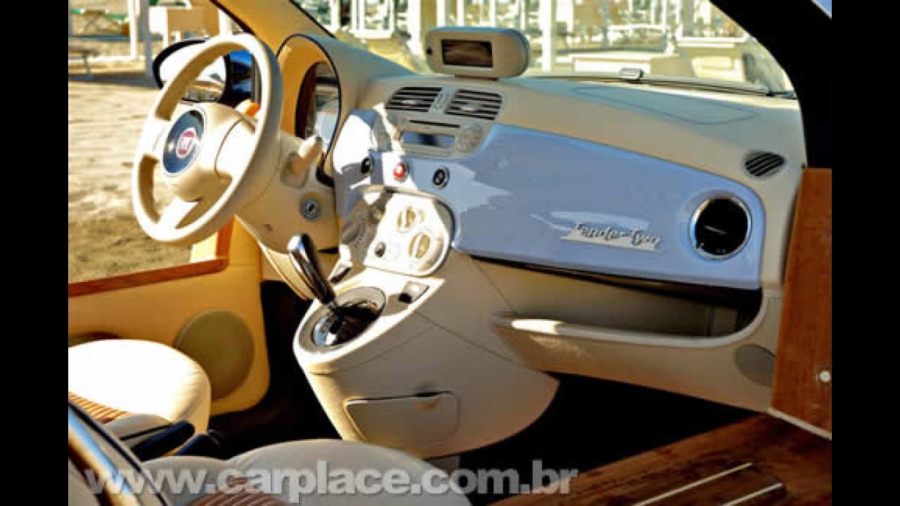 Buggy de praia europeu: Castagna Milano mostra o Fiat 500 Tender Two elétrico