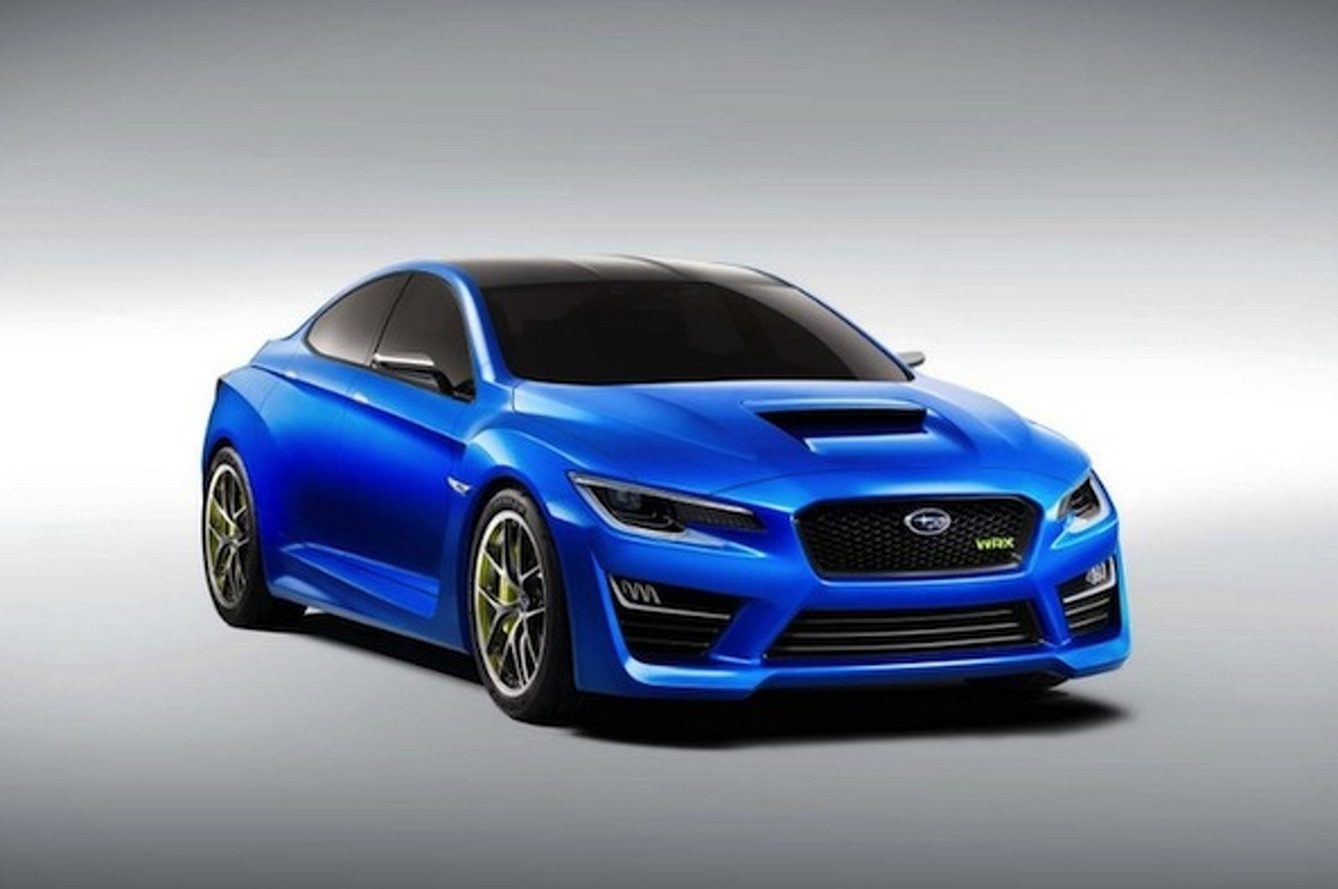 Subaru WRX Concept is the Handsome Sports Sedan Defined