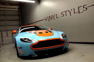 Video: Aston Martin V12 Vantage Gulf Will Make You Hate Your Wife and Children