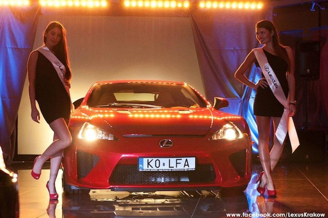 Buy A Lexus LFA in Poland, Get Babes