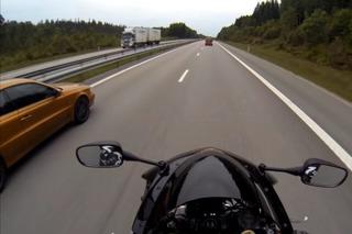 Watch a 677-HP Volvo C70 Race a Honda CBR1000