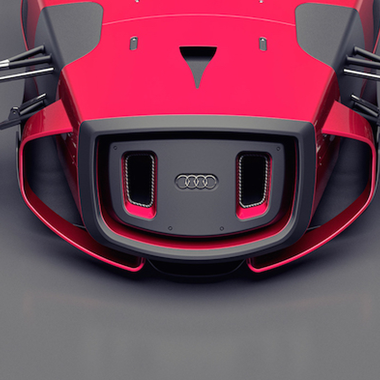 Futuristic Audi Union Concept Relives Cars of Racing Past