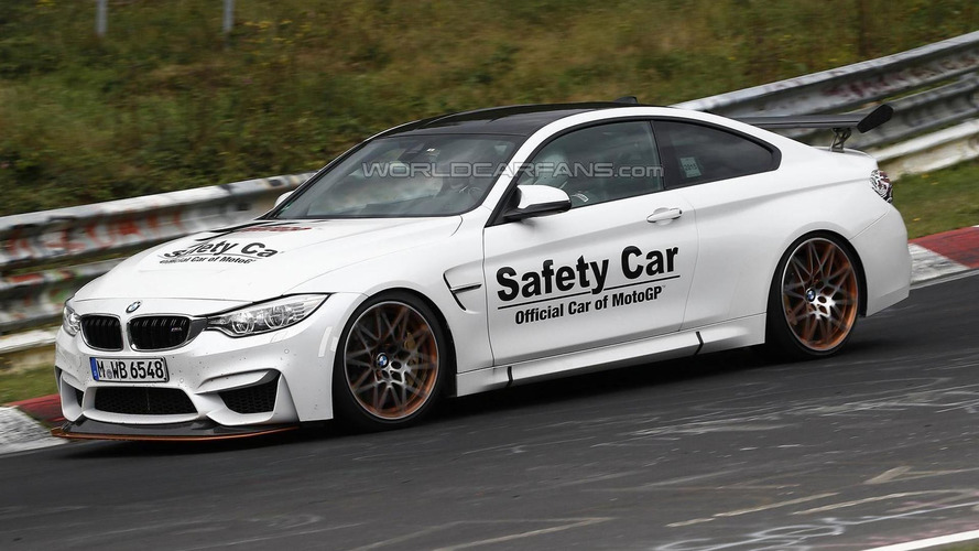BMW M4 GTS production car spied at the Nurburgring looking just like the concept