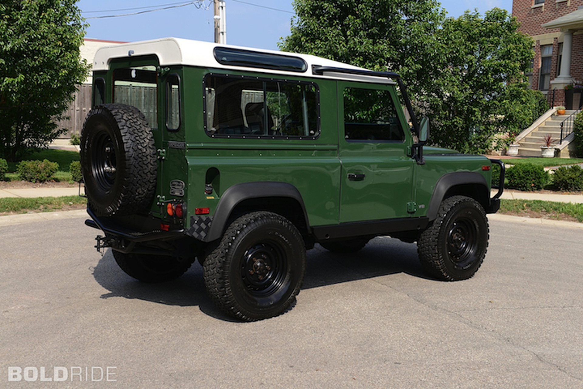 Your Ride 1995 Land Rover Defender D90