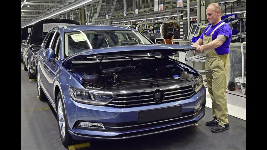 Produktionsstopp bei VW