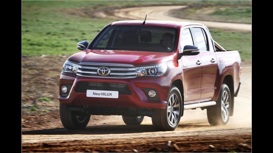 Toyota Hilux: Neuauflage des Unzerstörbaren