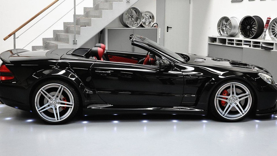 Mercedes-Benz SL r230FL Black Edition aerodyanmic kit by Prior Design