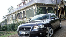 Single Frame Audi A8 to Australia