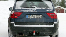 BMW X3 facelift spy photos