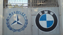 Mercedes-Benz and BMW logos