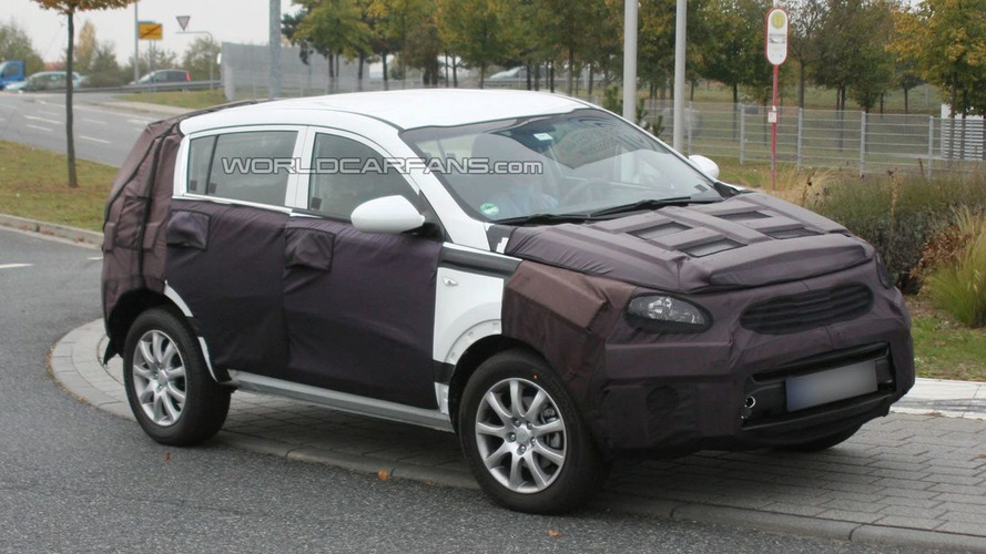 2010 Kia Sportage Crossover Caught Testing in Germany